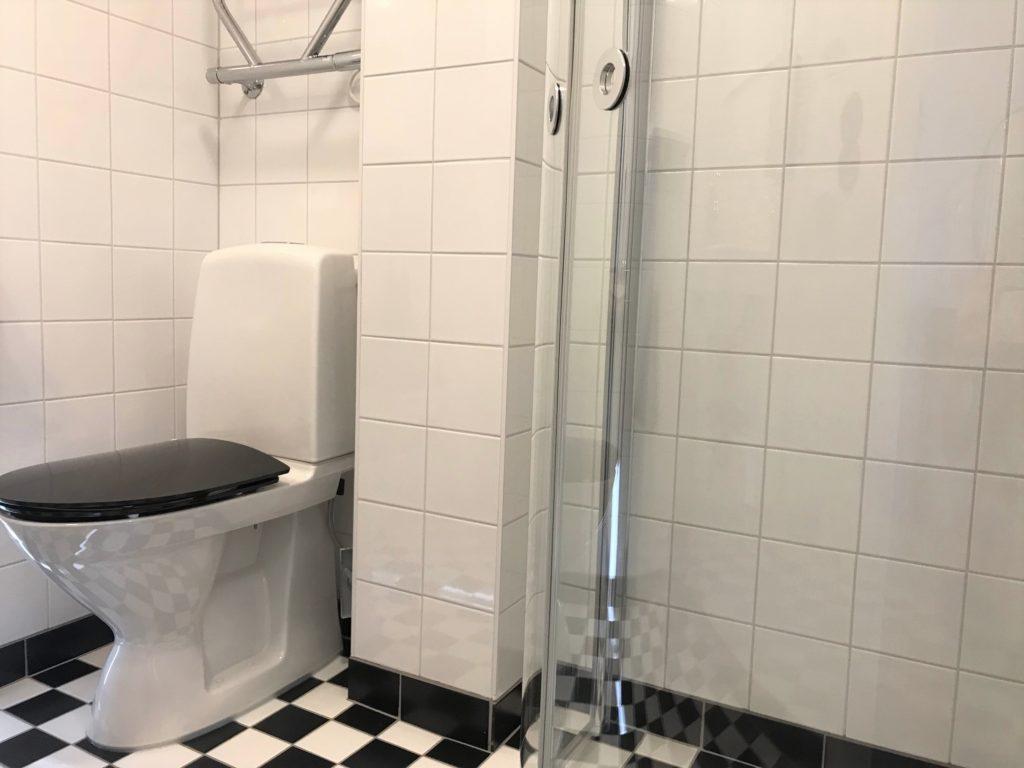 Superior enkel badrum